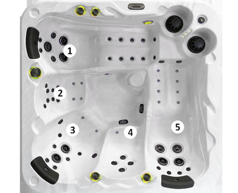 Modèle 5 places O565