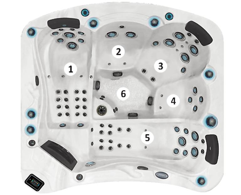 Modèle 5 places - E585
