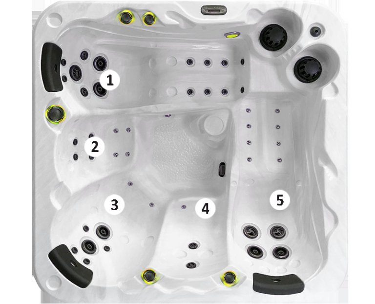 Modèle 5 places O547